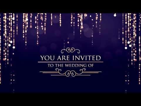 Aveeplayertemplates Youtube In 2020 Wedding Invitation Video Free Wedding Invitations Free Wedding Invitation Templates
