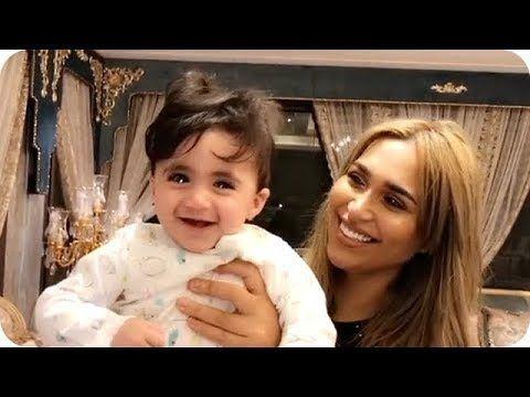شوفوا سسوت خلود الصغيرة بالمناديل الورقية Baby Face Youtube Necklace