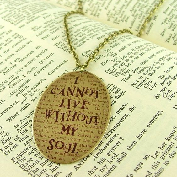 Wuthering Heights necklace: Beautiful Necklace, Necklace Randomnum, Favorite Book, Favorite Quotes, Heights Beautiful, Book Jewlery, Beautiful Love, Heights Necklace