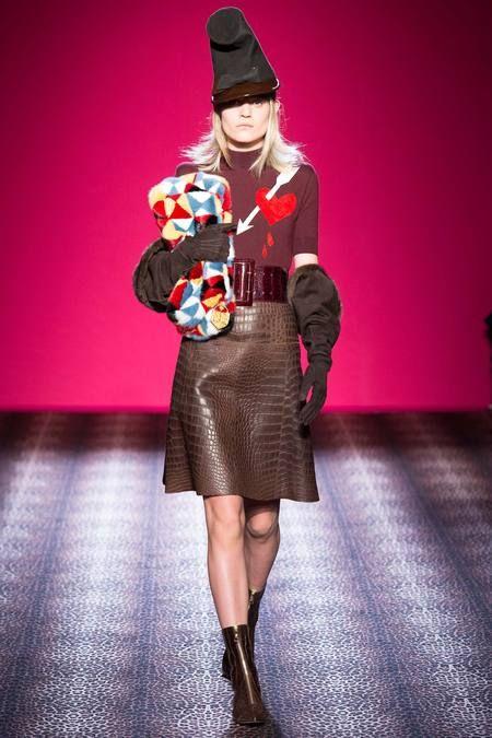 Fall 2014 Couture Schiaparelli, estampa/accesorios
