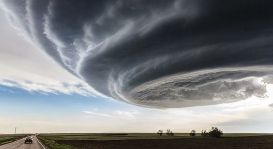 This photograph was taken while approaching the storm near Julesburg, Colorado on May 28th, 2013.