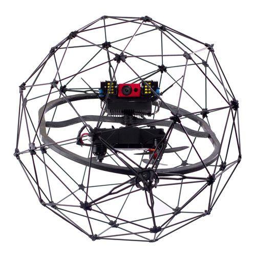Drone tolérant aux collisions / à voilure tournante / quadrirotor / d'inspection…