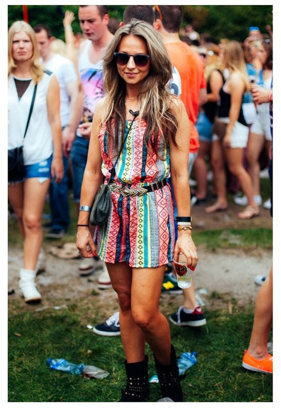 Festival outfit.