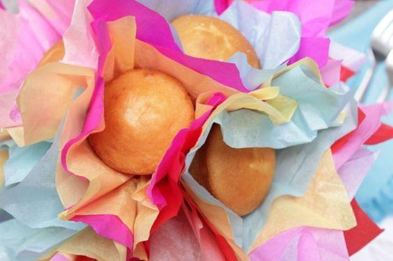 Centro de mesa hecho con cupcakes | Blog de BabyCenter