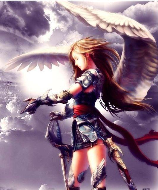 Woman warrior angel   Tattoos   Pinterest   Warrior angel ...