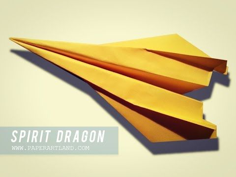 How To Make A Paper Airplane The Best Paper Planes Dragon