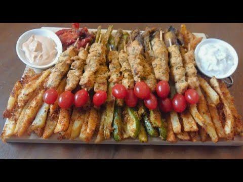 خضر في الفرن بطريقة صحية و تتبيلة روعة جربوهم و تفكروني Youtube Vegetables Food Asparagus