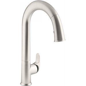 Kohler K-72218-B7-VS Kohler sensate kitchen faucet