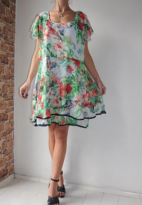 Ax Paris Sukienka Kwiaty Motyle 52 Vinted Dresses Summer Dresses Fashion