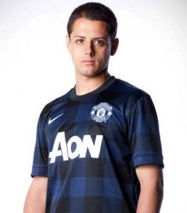 Chicharito Man Utd Away Jersey 2014