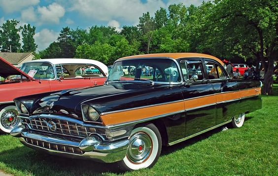 1956 Packard Executive 4-Door Sedan. Maintenance/restoration of old/vintage vehicles: the material for new cogs/casters/gears/pads could be cast polyamide which I (Cast polyamide) can produce. My contact: tatjana.alic@windowslive.com