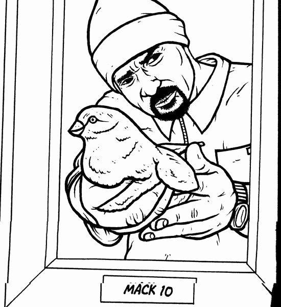 - Gangsta Rap Coloring Book Luxury Gangster 6 Characters – Printable Coloring  Pages Cat Coloring Book, Enchanted Forest Coloring Book, Coloring Books