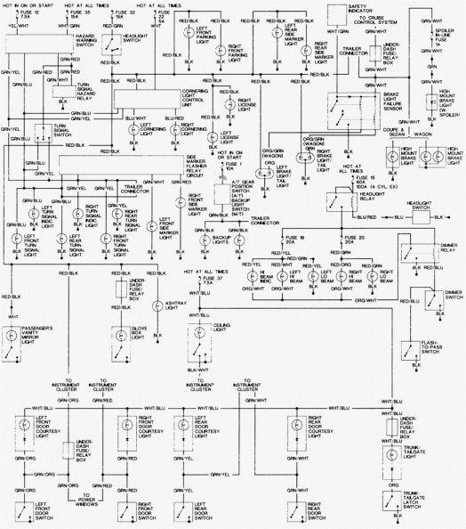 17 1994 Honda Accord Engine Wiring Diagram Engine Diagram In