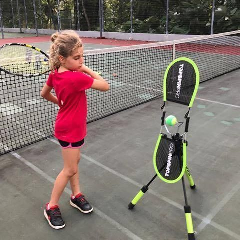 Topspinpro Tennis Training Aid In 2020 Tennis Workout Drill