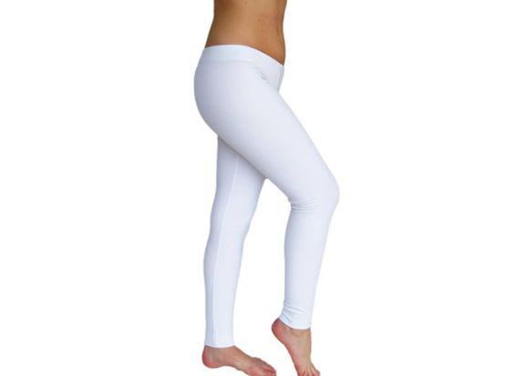 Non transparent Opaque White Leggings Lycra Spandex Fuzzy White ...