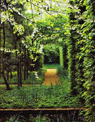Garden in Belgium by Daniel Ost