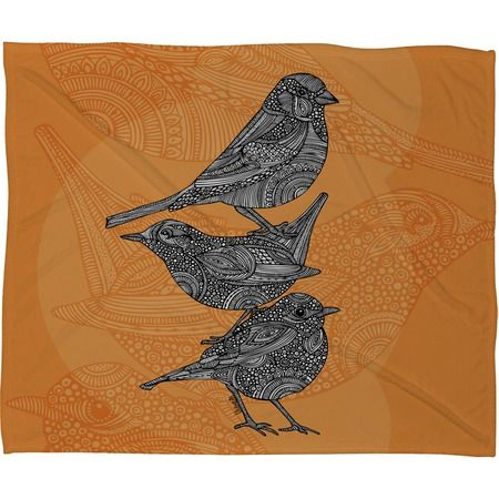 I pinned this Three Little Birds Throw Blanket from the Valentina Ramos event at Joss and Main!