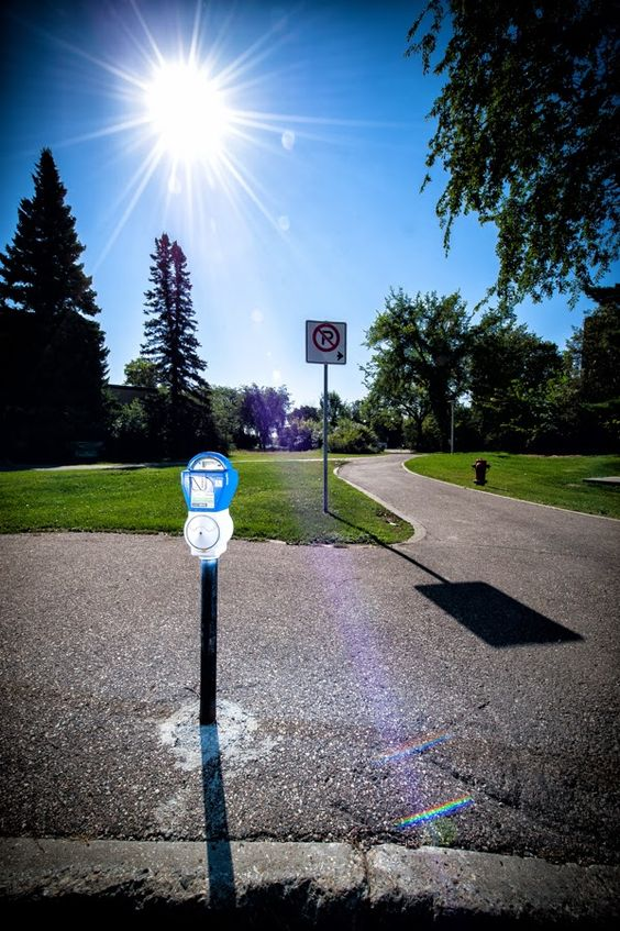 Challenging Reality: Barrier - Parking Meters