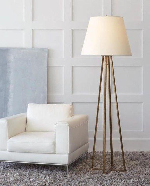 Hannah Floor Lamp | Floor lamp, Circa lighting, Lighting
