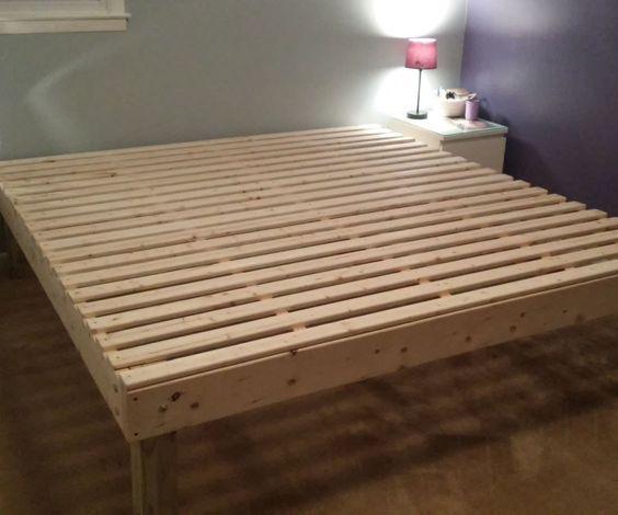 Foam Mattress Bed Frame For Under 100 Diy Bed Frame Bed Frame