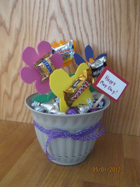 This is the 2nd style of May Day basket we are doing for 2012.