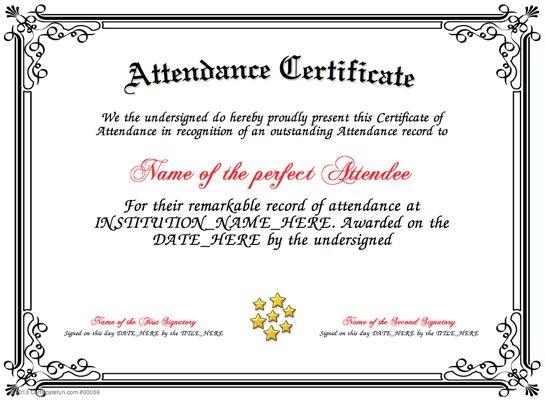 Doc550412 School Certificate Template Certificates Office – School Certificate Format