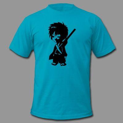 anime samurai Shirts, Spreadshirt, Graphic Design, Cute, Apparel, Clothing, tshirts, tshirt, Printing, Screen Printing, Custom Shirts, Funny, Bookyluv, Star Wars, Hair, Coffee, Workout, Working Out.
