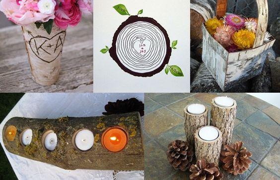 birch wood decorating ideas - Google Search