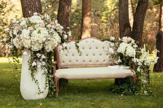Elegant wedding deco