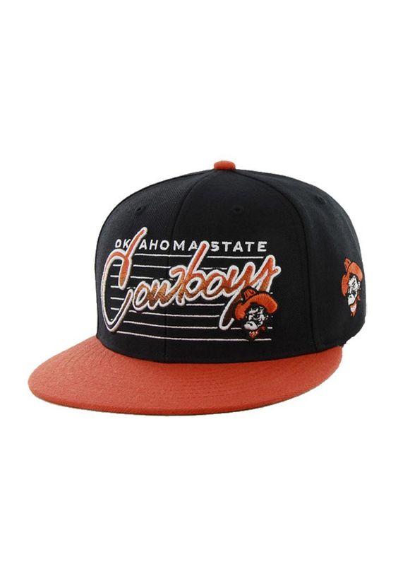 Oklahoma State Cowboys 47 Brand Mens Black Fission Snapback Hat http://www.rallyhouse.com/shop/oklahoma-state-cowboys-47-brand-oklahoma-state-cowboys-47-brand-mens-black-fission-snapback-hat-4806620 $27.95