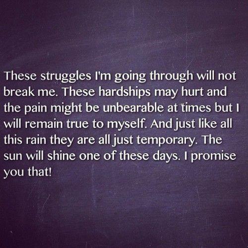 do not break me