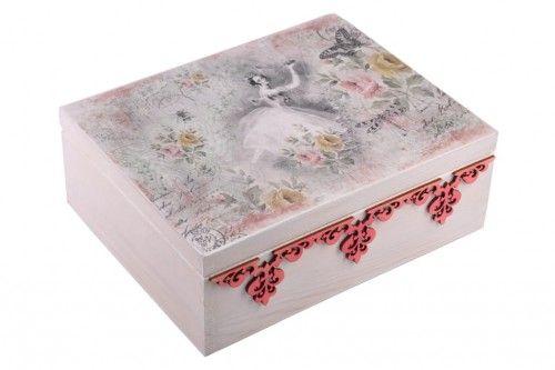 Szkatulki Pudelka Na Drobiazgi Kuferki Zdobione Technika Decoupage Trinket Boxes Decorative Boxes Box