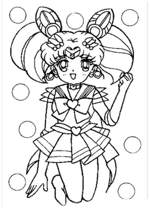 Schone Ausmalbilder Malvorlagen Sailor Moon Coloring Pages