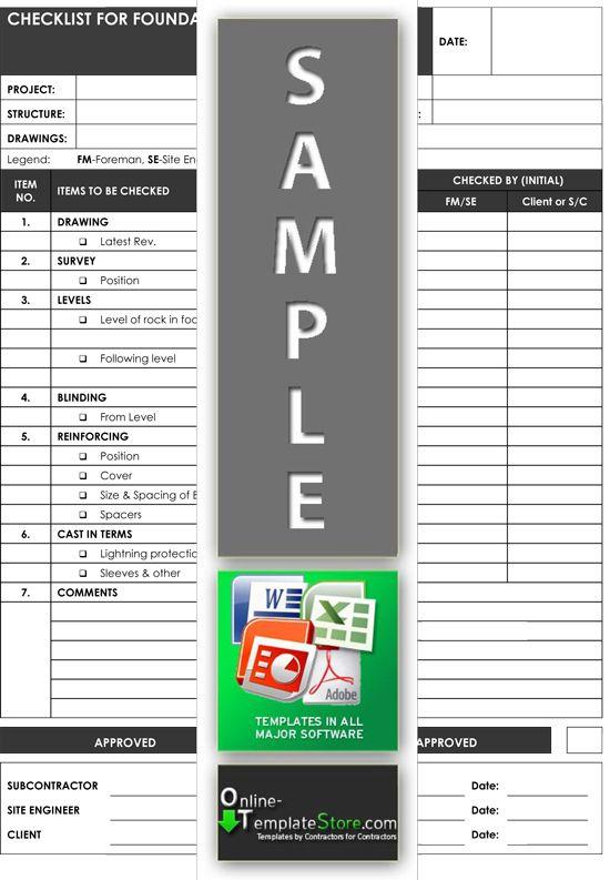 Grading Analysis Quality Control Templates Pinterest - method statement format
