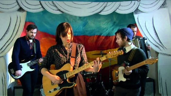 "Laura Stevenson & the Cans - ""Master of Art"" : 'You came with your faith unshaken,/ Unabashed oh my darling you're amazing,/ With your hands so cold and full of callouses.'"