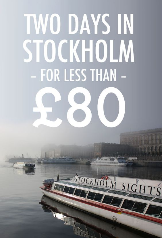 How to spend a whole weekend in #Stockholm for less than £80 (around $120), including food, transport and accommodation. Also includes tips on sightseeing on a budget.