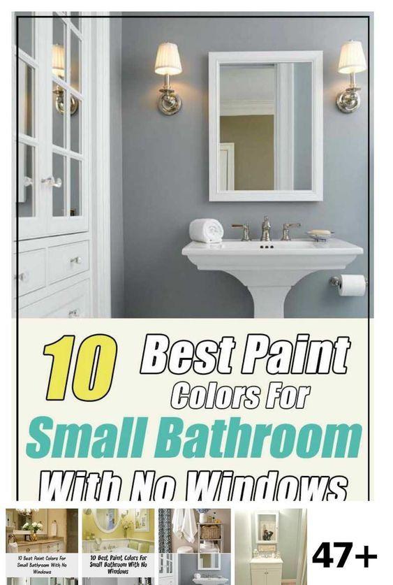 47 Bathroom Colors No Window Ideas Informations About 47 Bathroom Colors No Window Ideas Pin You Can Easi In 2020 Small Bathroom Colors Bathroom Colors Mirror Lamp