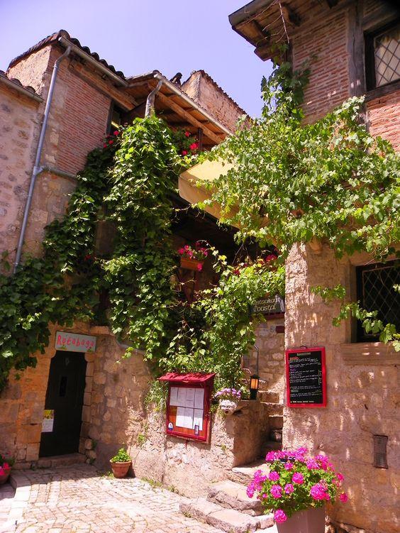 Saint-Cirq-Lapopie, Midi-Pyrénées