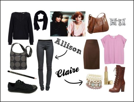 the breakfast club outfits from movies pinterest the