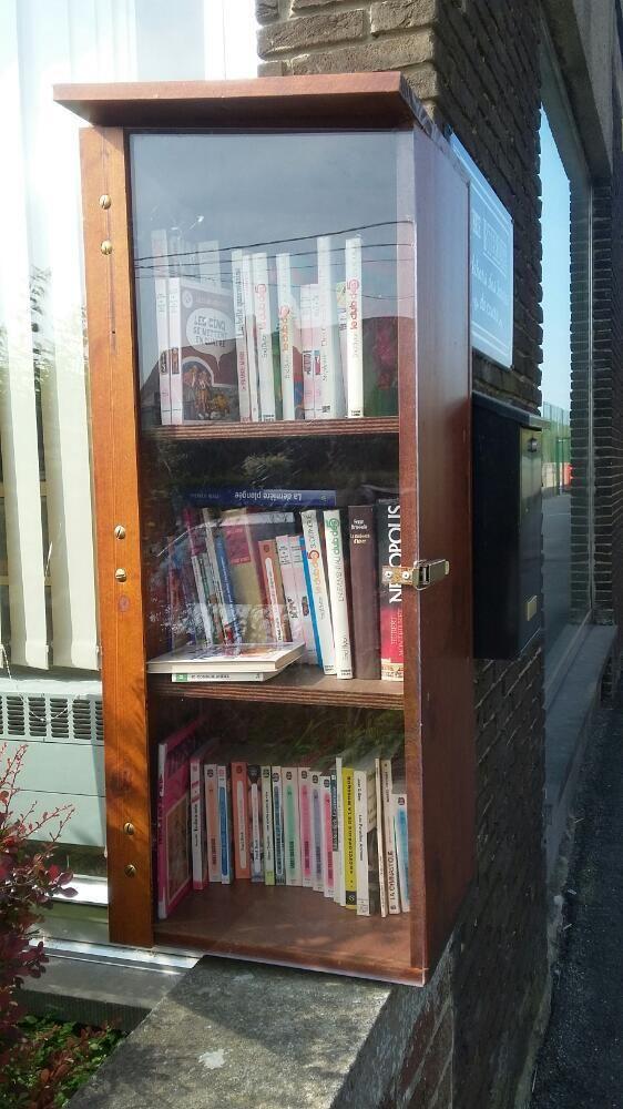 Boîte à livres Lausprelle Gerpinnes