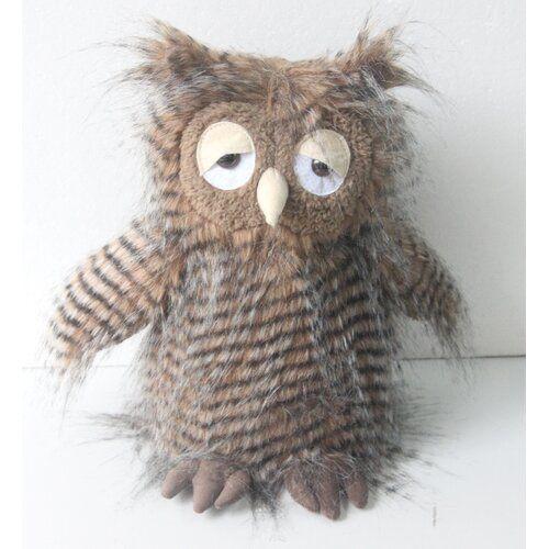 Jameson Owl Fabric Weighted Floor Stop Harriet Bee Harriet Bee This Kids Animal Doorstop Will Hold The Door Open For You Sou In 2020 Owl Fabric Animal Doorstop Owl