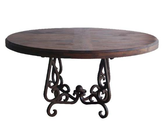 iron and wood dining tables mesquite wood and iron dining table western dining tables 7586