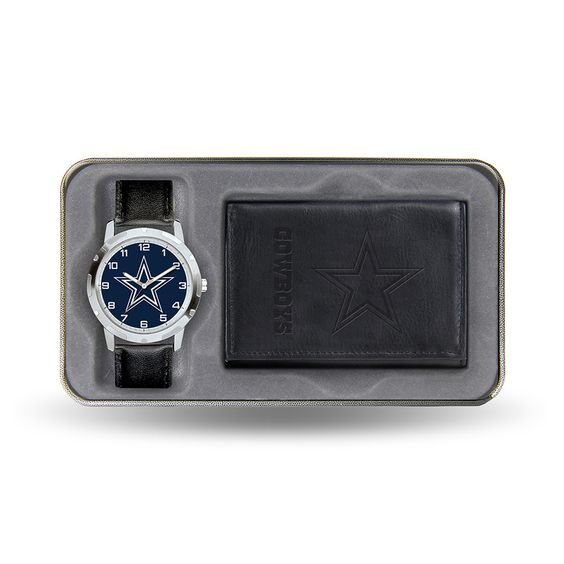Dallas Cowboys NFL Men's Watch & Wallet Gift Set
