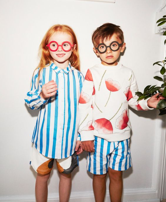 Bold stripes for summer 2017 from WAWA who will be at CIFF Kids this week in…:
