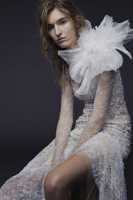 A Sneak Peek at the Vera Wang Fall 2015 Bridal Collection via @onefabday