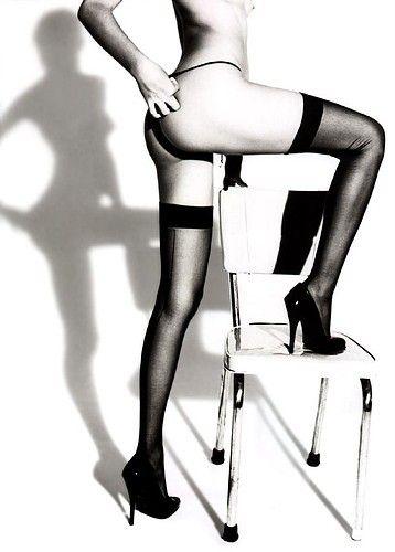 Chair strip tease