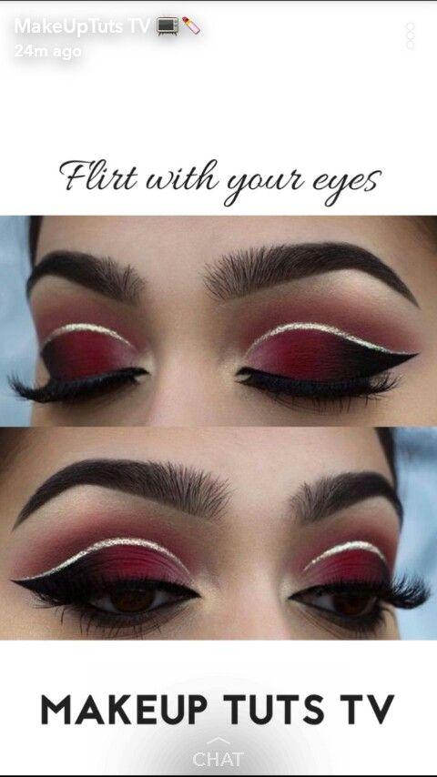 Pin By Valerie Villanueva On Makeup Eye Makeup Makeup Designs Halloween Face Makeup