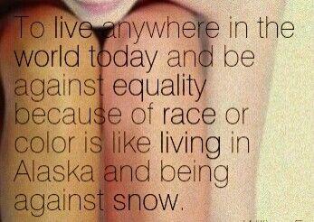 Racial Equality: