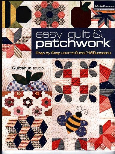 Easy Quilt & Patchwork - Ramos Vasconcelos - Álbuns da web do Picasa...FREE BOOK!!