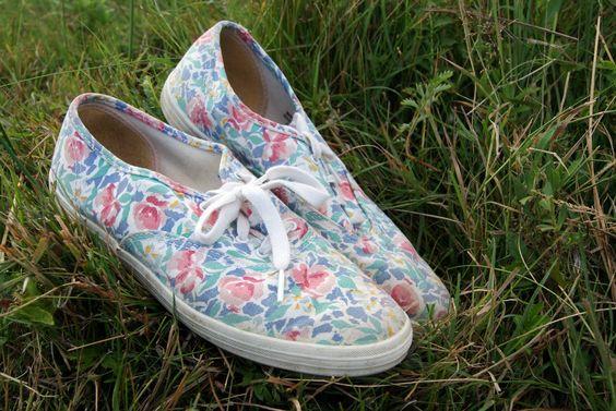 floral keds! um yes!